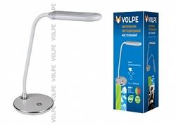 Volpe Светильник LED настольный TLD-522 360Lm/DW/Dimmer/серебристый арт. 10290