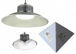 Volpe Светильник LED промышленный с облегченным корпусом c отражателем, цвет свечения белый. IP20 SILVER арт. UL-00000399