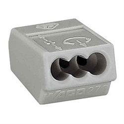 WAGO Клемма на 3 проводника 4 мм. кв. арт. 273-503