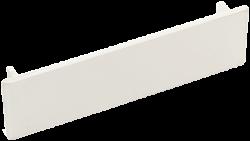 Заглушка торцевая 75х20 мм белая (030300 - SPL - 075002S) арт. 075002S