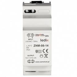 Zamel Блок питания LED 14V DC 8W на DIN-рейку арт. ZNM-08-14