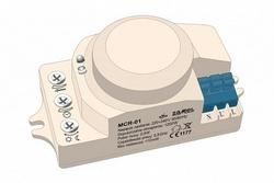 Zamel Датчик движения микроволновый 1200Вт IP44 возможность скрытого монтажа арт. MCR-01