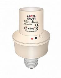 Zamel Приемник выключатель освещения под лампы E27 100W арт. RWL-01