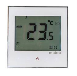 Zamel Программируемый регулятор температуры, сенсорный, белый арт. RTD-02 белый