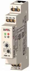 Zamel Реле импульсное 16А IP20 на DIN рейку с функцией автом. откл. 0,1с -10дней арт. PBM-03