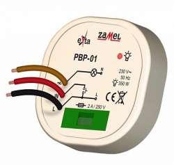 Zamel Реле импульсное 300Вт IP40 в монтаж. кор. д60 арт. PBP-01