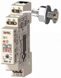 Zamel Реле сумеречное 2 зоны 16А IP20 крепление на DIN рейку (с датчиком SOH-01 1м) арт. WZM-02/S1