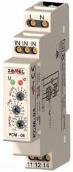 Zamel Реле времени многофункциональное 16А IP20 на DIN рейку арт. PCM-04