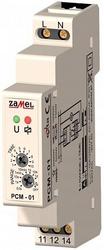 Zamel Реле времени с задержкой на вкл 16А IP20 на DIN рейку арт. PCM-01