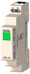 Zamel Сигнализатор световой зеленый 230VAC IP20 на DIN рейку арт. LKM-03-20