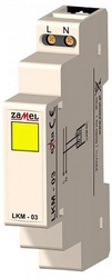 Zamel Сигнализатор световой желтый 230VAC IP20 на DIN рейку арт. LKM-03-30