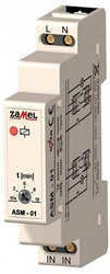 Zamel Таймер лестничный 10с-10мин 16А IP20 на DIN рейку арт. ASM-01