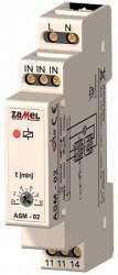 Zamel Таймер лестничный 2с-10мин 16А с функц. антиблокировки IP20 на DIN рейку арт. ASM-02