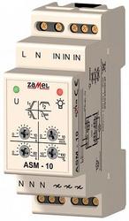Zamel Таймер лестничный 2с-10мин 600Вт с функц. антиблокировки плавное вкл/выкл IP20 на DIN рейку арт. ASM-10
