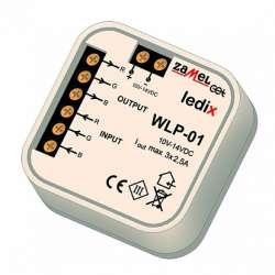 Zamel Усилитель RGB (установка в монтажную коробку), в монт.коробку арт. WLP-01
