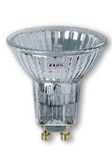 Zeon Лампа галогеновая точечная с отражателем со стеклом 35W 230V GU10 арт. JCDRC 230V 35W