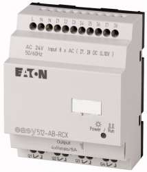 Программируемое реле 24V AC, цифровые 8 DI (2 могут использоваться как как аналог.), 4DO, реле 10А (EASY512-AB-RCX10) арт.104570