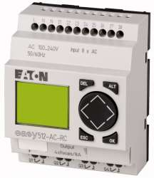 EASY512-AC-RC10 Программируемое реле MOELLER / EATON (арт.104572) арт.104572