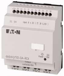 Программируемое реле 12VDC, цифровые 8 DI (2 могут использоваться как как аналог.), 4DO, реле 10А, часы реального времени (EASY512-DA-RCX10) арт.104575