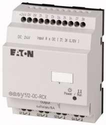 Программируемое реле 24VDC, цифровые 8 DI (2 могут использоваться как как аналог.), 4DO, реле 10А, часы реального времени (EASY512-DC-RCX10) арт.104578