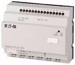 Программируемое реле 240V AC, цифровые, 12 DI (4 могут использоваться как как аналог.), 6DO, реле 10А, часы реального времени (EASY719-AC-RCX10) арт.104584