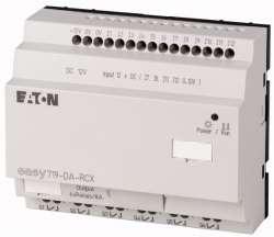 Программируемое реле 12VDC, цифровые, 12 DI (4 могут использоваться как как аналог.), 6DO, реле 10А, часы реального времени (EASY719-DA-RCX10) арт.104586