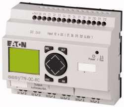 Программируемое реле 24 В DC, 12 входов 6 выхода реле, дисплей+клавиатура (EASY719-DC-RC10) арт.104587