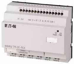 Программируемое реле 24VDC, цифровые, 12 DI (4 могут использоваться как как аналог.), 6DO, реле 10А, часы реального времени (EASY719-DC-RCX10) арт.104588