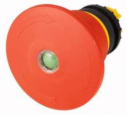 Кнопка аварийной остановки, D = 45 мм, без подсветки, отмена поворотом, с индикатором положения (M22-PVT45P-MPI) арт.121463