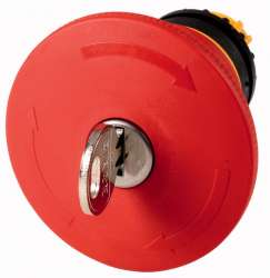 Кнопка аварийной остановки, D = 60 мм, отмена ключом, Ронис (M22-PVS60P-RS) арт.121467