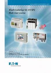 Программное обеспечение для программирования ПЛК ,CoDeSyS многопользовательская лицензия , CD (SW-XSOFT-CODESYS-2-M) арт.142583
