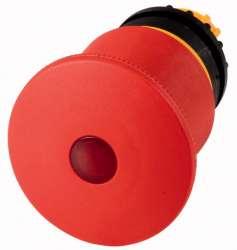 Кнопка аварийной остановки, D = 45 мм с подсветкой, отмена вытягиванием (M22-PVL45P) арт.152860