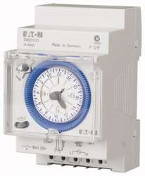 Аналоговый таймер, синхронный, шаг 15 мин, 1 перекл. контакт, дневная программа (TSSD1CO) арт.167391