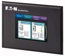 """Система мониторинга BreakerVisu, подключение до 8 устройств, цветной дисплей 3,5"""", ModbusRTU (NZM-XMC-MDISP35-MOD) арт.172764"""