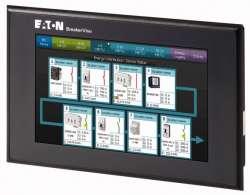 """Система мониторинга BreakerVisu, подключение до 48 устройств, цветной дисплей 7"""", ModbusRTU+SmartWire DT (NZM-XMC-MDISP70) арт.172766"""