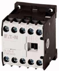 Миниконтактор 9А, управляющее напряжение 110В, 1НО доп. контакт, категория применения AC-3, АС4 (DILEM-10(110V50/60HZ)) арт.21455