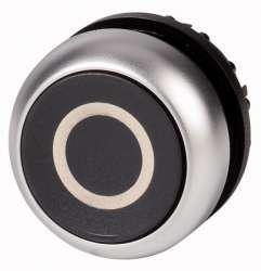 Головка кнопки с фиксацией, цвет черный (M22-DR-S-X0) арт.216632