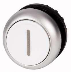 Головка кнопки с фиксации, цвет белый с обозначение O (M22-DR-W-X1) арт.216634