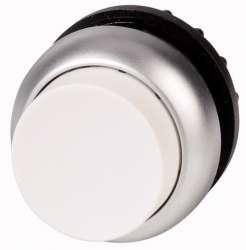 Головка кнопки выступающая без фиксации, цвет белый (M22-DH-W) арт.216638