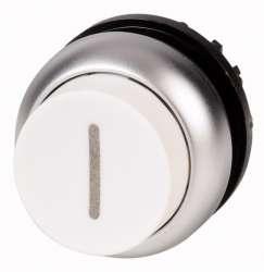 Головка кнопки выступающая с фиксацией, цвет белый (M22-DRH-W-X1) арт.216681