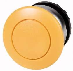 Головка кнопки грибовидная, без фиксации, цвет желтый (M22-DP-Y) арт.216718