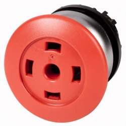 Головка кнопки грибовидная, без фиксации, пустая, цвет красный (M22-DP-R-X-GVP) арт.216732