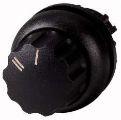 Управляющая головка переключателя с фиксацией, черное лицевое кольцо (M22S-WR-X92) арт.216858