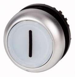 Головка кнопки с подсветкой, изменение ф-ии с фиксацией/без фиксации, цвет белый (M22-DRL-W-X1) арт.216963