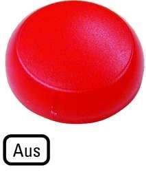 Линза для сигнальных ламп , выступающая красная , OFF (M22-XL-R-D5) арт.218406