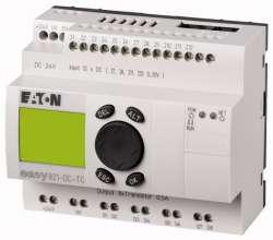 Программируемое реле 24 В DC, цифровые 12 DI (4 могут использоваться как как аналог.), 8DO, транз., дисплей+клавиатура, часы реального времени (EASY821-DC-TC) арт.256273