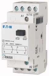 Установочное реле с кнопкой 230В, 2НО+2НЗ (Z-R230/2S2O) арт.265215