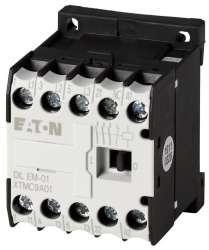Миниконтактор 9А, управляющее напряжение 42В (АC), 1НЗ доп. контакт, категория применения AC-3, АС4 (DILEM-01(42V50HZ,48V60HZ)) арт.51791