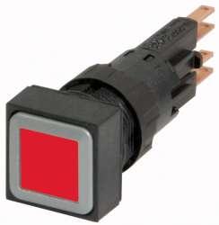 Кнопка с подсветкой , цвет красный, без фиксации (Q25LT-RT) арт.86238