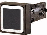 Кнопка , цвет черный, с фиксацией (Q18DR-SW) арт.86269